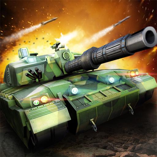 Um jogo de ataque militar. Equipe seus tanques e preparar para a batalha!