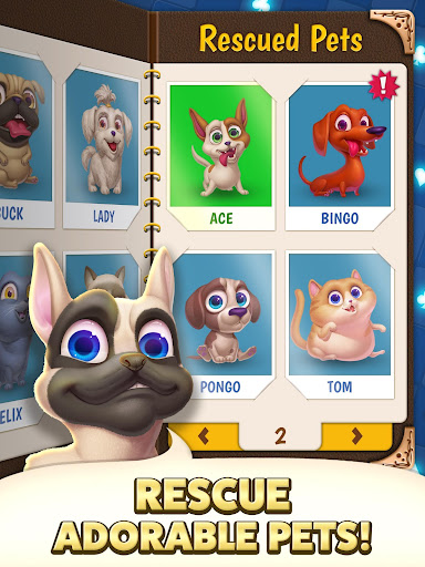 Solitaire Pets Adventure - Free Classic Card Game screenshots 11