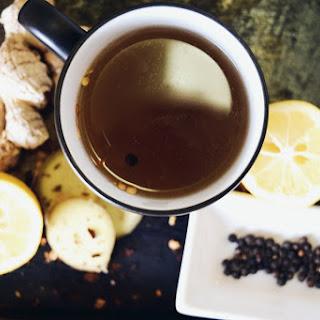 Spicy Lemon-Ginger Tonic Tea.
