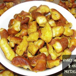 Honey Mustard & Onion Pretzel Bites.