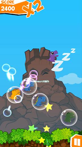 Dine Bomb Bubble Blast screenshot 1