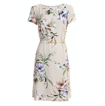 May Dress, pastel floral