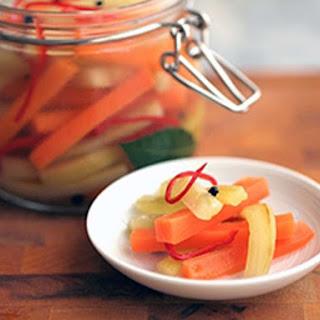 Quick Japanese Pickled Vegetables.