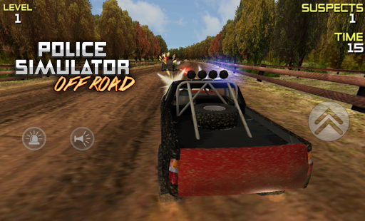 POLICE Offroad Simulator HD 1 screenshots 8