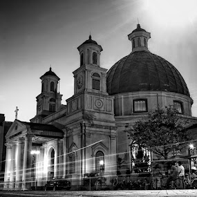 b l e n d u k by Ayah Adit Qunyit - Buildings & Architecture Places of Worship ( black and white, pwcbuilding,  )