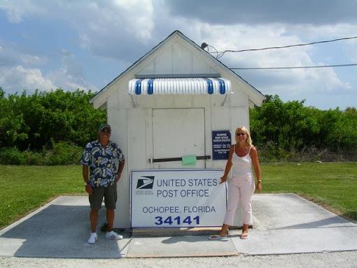das kleinste Postamt der Vereinigten Staaten