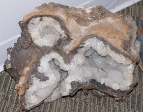 Photo: Massive geode by the entrance
