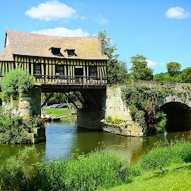 Moulin de Vernon by Gérard CHATENET - Buildings & Architecture Bridges & Suspended Structures