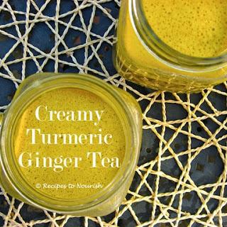 CREAMY TURMERIC + GINGER TEA