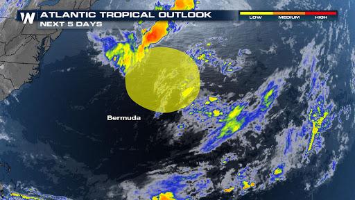 First Disturbance in Atlantic Basin