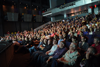 Photo: Here's a shot of the main theater during the opening keynote
