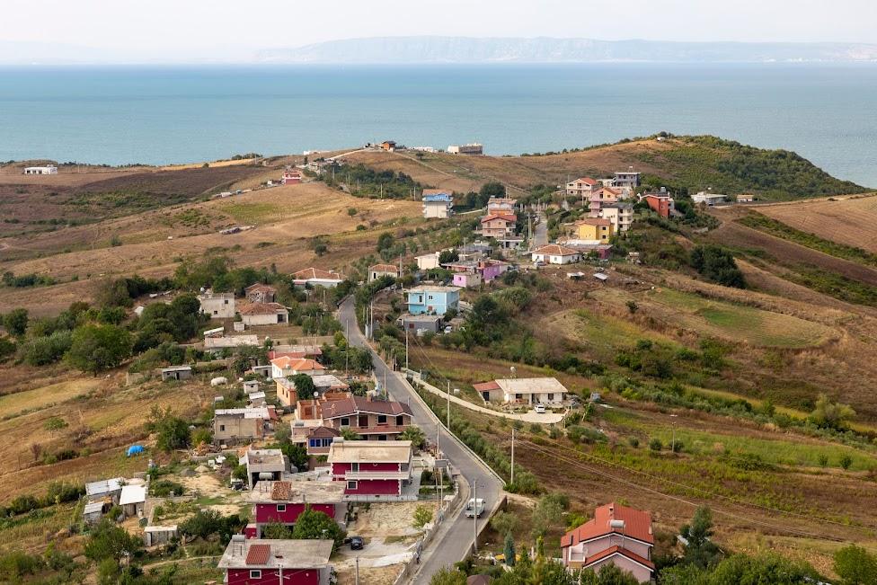 droga na półwysep Rodonit