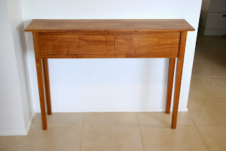 Photo: Paul Flemming's first woodwork project