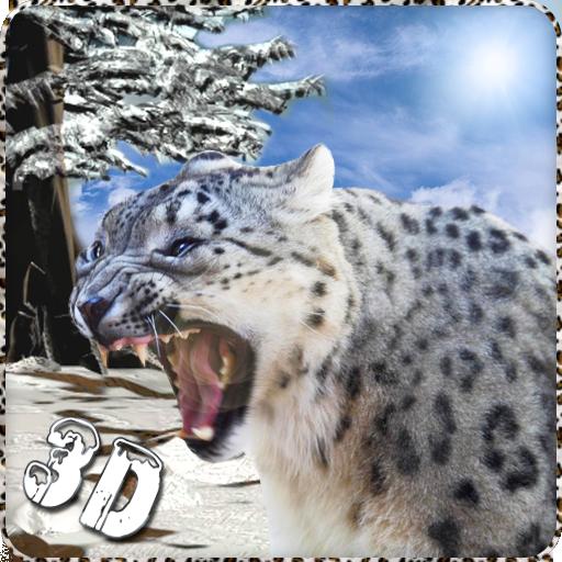 模拟のSnow Leopardのサバイバルアタック LOGO-記事Game