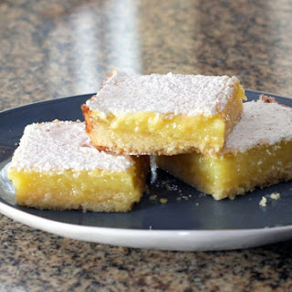 Lemon Squares with Shortbread Crust.