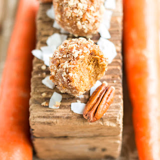 Carrot Cake Raw Balls