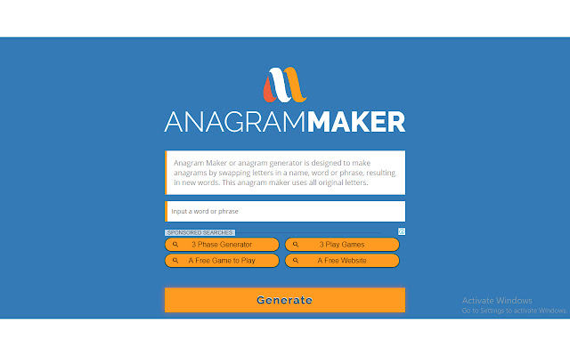 anagram maker