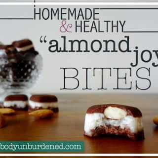 "Homemade & Healthy ""almond Joy"" Bites."