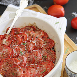 Parmesan Tomato Gratin.