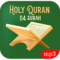 Holy Quran 114 Surah With Voice - Muslim App Pro icon