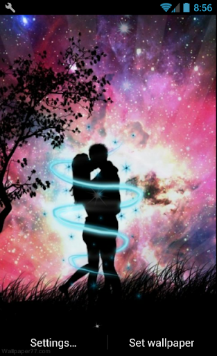 Romantic Live Wallpaper 1.1 screenshots 1