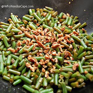 20 Minute Garlic Green Beans