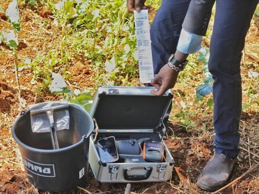 Soil-testing kit that gives results in 30 minutes
