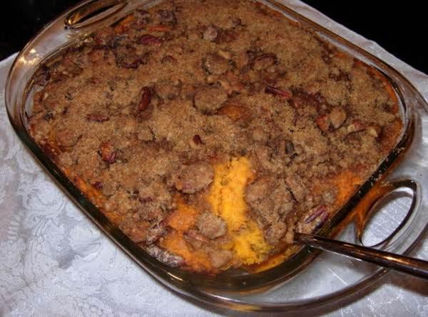 Sweet Potato Praline Casserole