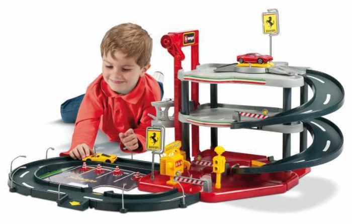 Bãi đậu xe Ferrari Bburago Race & Play