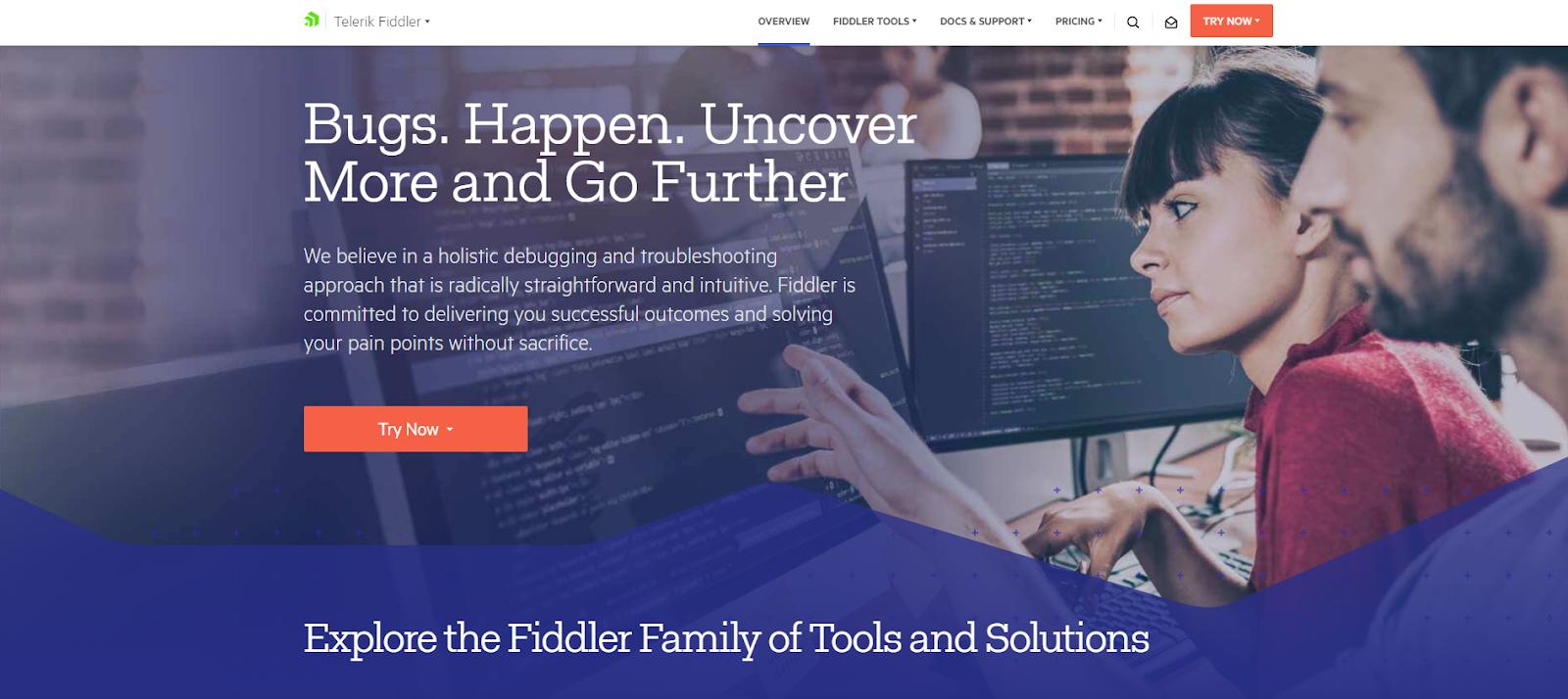 Fiddler Network Monitoring Tool