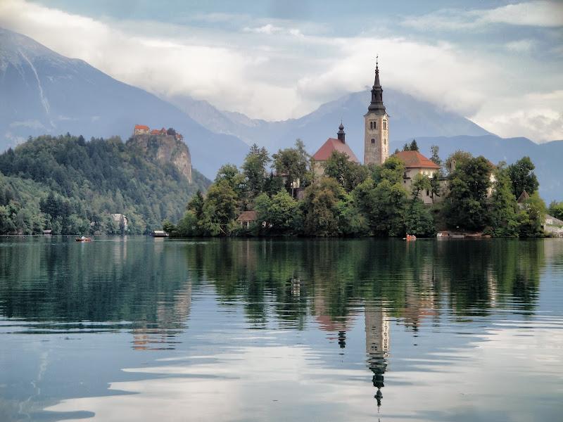 Riflesso sul Lago di Bled  di Gianluca Presto