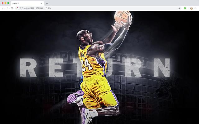 Los Angeles Lakers New Tab HD NBA Themes