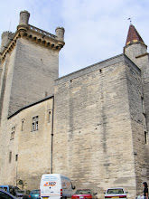 Photo: Uzès contains 3 large towers: the clock tower (which was the bishop's), and these two which belong to the duke and the king – the three powers which shared authority in the town at the time.