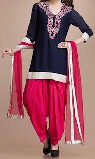 Latest Patiyala Dress Design 2018 - náhled