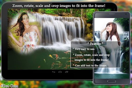 Waterfall Photo Frame screenshot 1
