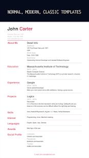 App Resumaker: Resume builder app free CV maker PDF APK for Windows Phone