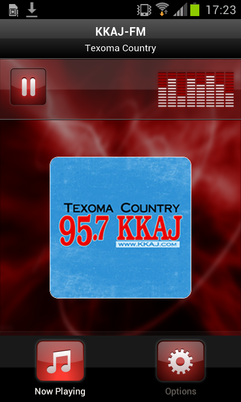 KKAJ-FM- screenshot
