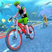 Underwater Stunt Bicycle Race Adventure