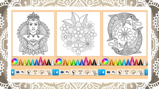 Mandala Coloring Pages 14.0.2 screenshots 7