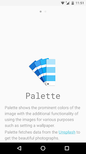 Palette- screenshot thumbnail