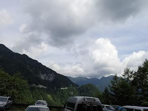 駐車場到着時の天気