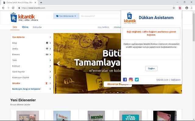 kitantik.com - Dükkan Asistanım