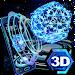 Neon Pentagon 3D Theme icon