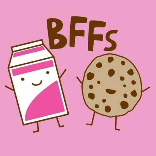 galletas y leche mejores amigos