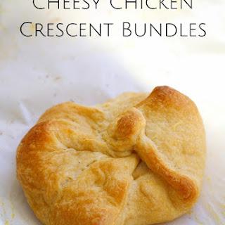 Cheesy Chicken Crescent Bundles.