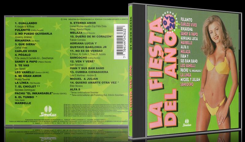 Varios Artistas - La Fiesta Del Año Vol. 20 (1998) [MP3 @320 Kbps]