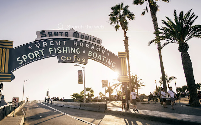 Santa Monica Hd Wallpapers New Tab Theme