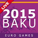 2015 Baku. Euro Games icon