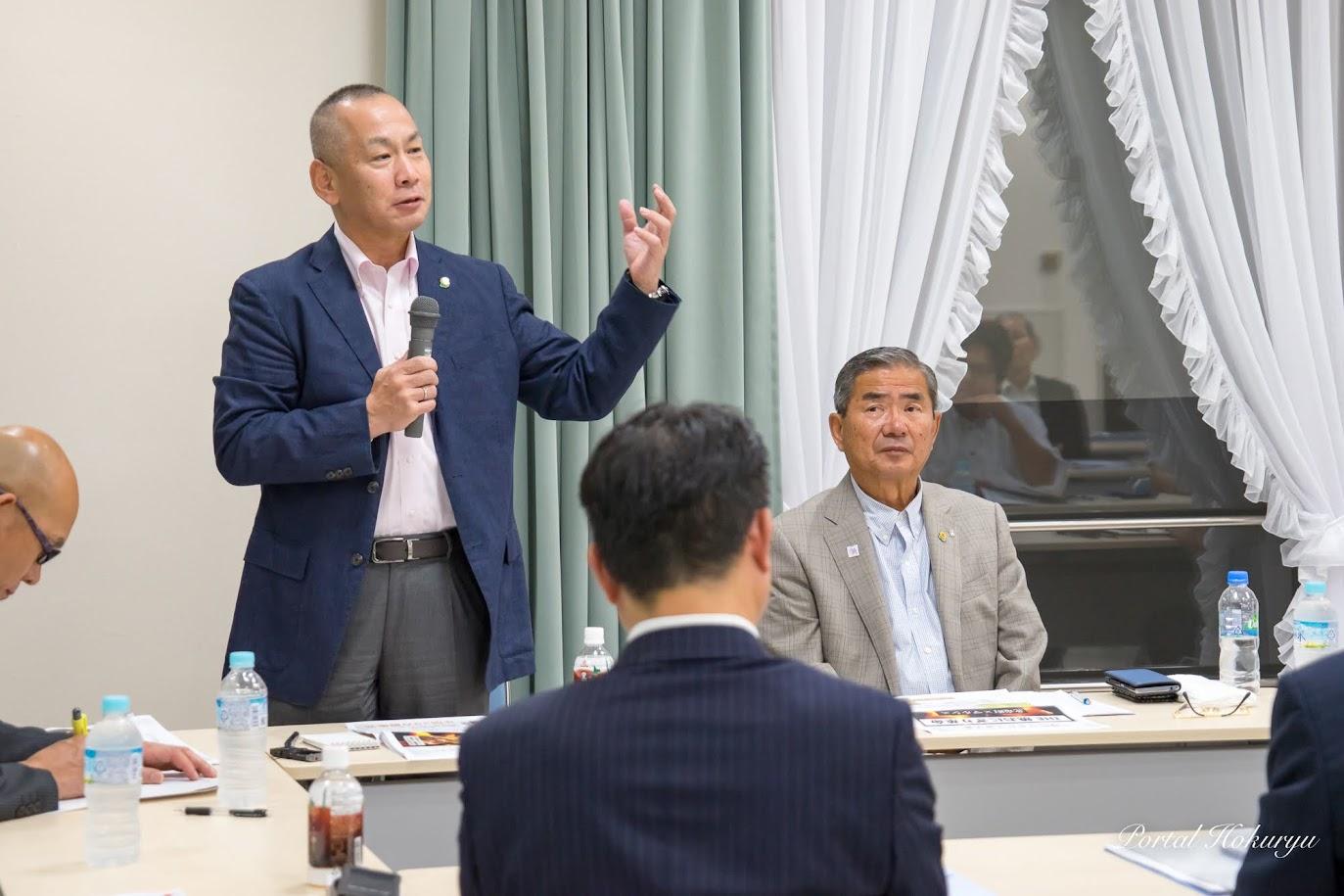 (株)マルシェ・谷垣雅之 取締役会長