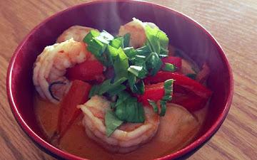 Easy Red Curry Shrimp Recipe
